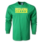 South Africa Soccer Supporter LS T-Shirt (Green)