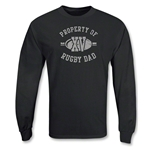 Rugby Dad XV LS T-Shirt (Black)