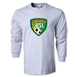 United Soccer League LS T-Shirt (Ash)