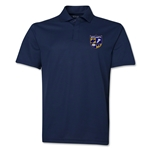 West Virginia University Rugby Polo (Navy)