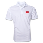 Morocco Polo Shirt (White)