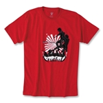 Ball Hard Urban Soccer T-Shirt (Red)