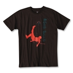 Kick Back Soccer T-Shirt (Brown)