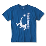 Kick Back Soccer T-Shirt (Royal)
