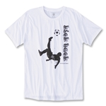 Kick Back Soccer T-Shirt (White)