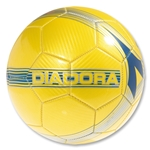 Diadora Napoli Soccer Ball (Yellow)