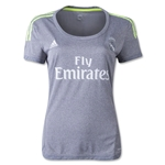 Real Madrid 15/16 Women's Away Soccer Jersey