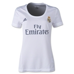 Real Madrid 15/16 Women's Home Soccer Jersey