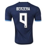 Real Madrid 15/16 BENZEMA Authentic Third Soccer Jersey