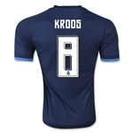 Real Madrid 15/16 KROOS Authentic Third Soccer Jersey