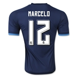 Real Madrid 15/16 MARCELO Authentic Third Soccer Jersey