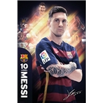 Barcelona Messi Poster