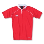 Canterbury CCC Duel Performance Rugby Jersey (Red)