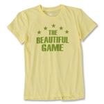 Objectivo Women's Brazil Beautiful Game Soccer T-Shirt