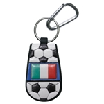 Italy Flag Soccer Key Chain