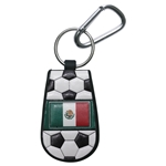 Mexico Flag Soccer Key Chain