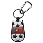 Portugal Flag Soccer Key Chain