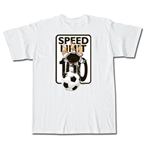 Speed Limit Soccer T-Shirt (White)