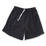 Yale 5 Mini Mesh LAX Shorts (Black)
