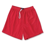 Yale 5 Mini Mesh LAX Shorts (Red)