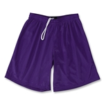 Yale 2 Ply Mesh Lacrosse Shorts (Purple)