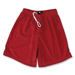 Yale 2 Ply Mesh Lacrosse Shorts (Red)