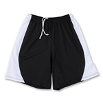 Yale 4-Way Stretch Short w/ Panel (Blk/Wht)