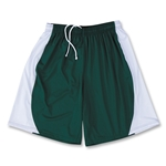 Yale 4-Way Stretch Short w/ Panel (Dk Gr/Wht)