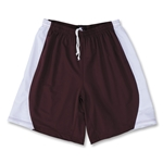 Yale 4-Way Stretch Short w/ Panel (Maroon/Wht)