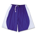 Yale 4-Way Stretch Short w/ Panel (Pur/Wht)