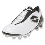 Lotto Fuerzapura KL100 FG Soccer Shoes (Bright White/Metal Blue)