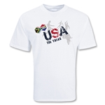USA Soccer T-Shirt (White)
