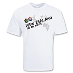 New Zealand Soccer T-Shirt (white)