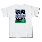 Lacrosse is for Girls T-Shirt (White)