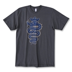 Objectivo Inter Grass Snake T-Shirt (Dk Grey)