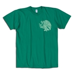 Mexico El Tri Eagle Soccer T-Shirt (Green)