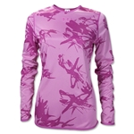 UA Women's Bio Print Reversible Training Top (Pink)