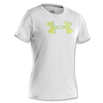 Under Armour Women's Big Logo SS T-Shirt (White)