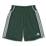 adidas Equipo Youth Soccer Shorts (Dark Green)