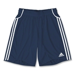 adidas Equipo Youth Soccer Shorts (Navy)