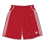 adidas Equipo Youth Soccer Shorts (Red)