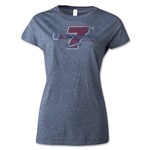 USA Women's 7's Houston Rugby Event T-Shirt (Dark Gray)