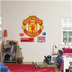 Manchester United Escudo Calcomania de Pared