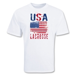 USA Lacrosse T-Shirt (White)