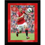 Manchester United Di Maria Framed Poster
