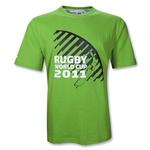 RWC 2011 Map SS T-Shirt