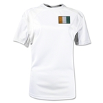 Cote d'Ivoire Gambeta Women's Soccer Jersey (White)