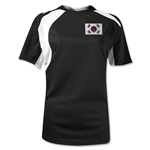 South Korea Gambeta Women's Soccer Jersey (Black)