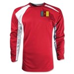 Cameroon Gambeta LS Soccer Jersey (Red)