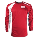 England Gambeta LS Soccer Jersey (Red)
